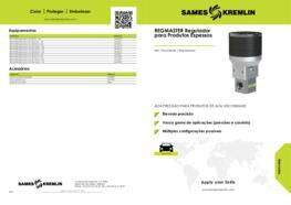 REGMASTER Regulador para Produtos Espessos
