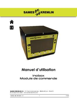 Inobox module de commande | Manuel d'utilisation