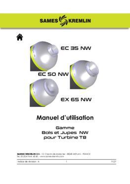 Bols Jupes d'air NW pour Turbine T8 | Manuel d' instructions
