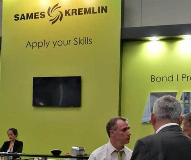 SAMES KREMLIN during Ligna 2017