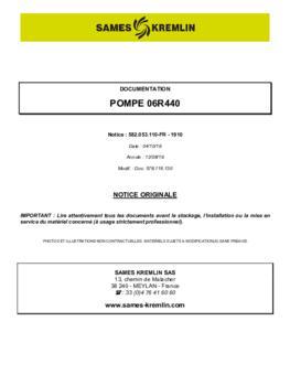 06R440 | Manuel d'utilisation