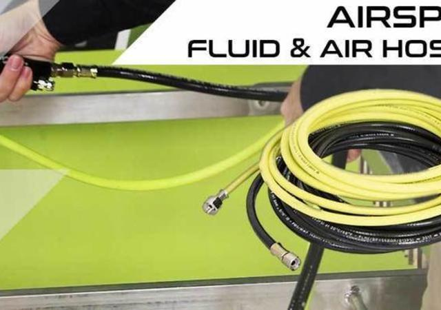 Airspray fluid and air hoses