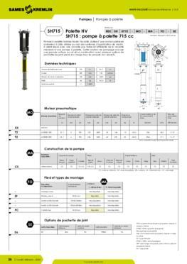 REXSON SH0715 - Fiche caractéristiques détaillées
