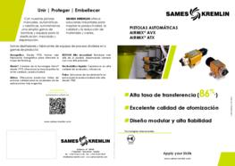 Díptico Pistola Automática Airmix® AVX & ATX SAMES KREMLIN