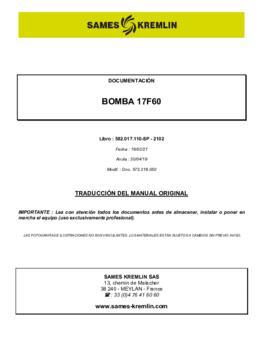 17F60 | Manual de instrucciones