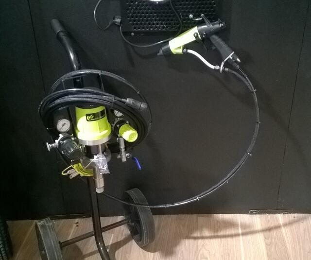 Airspray electrostatic kit