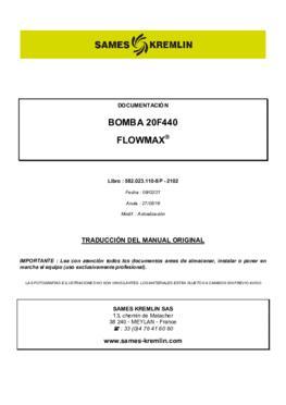 20F440 | Manual de instrucciones