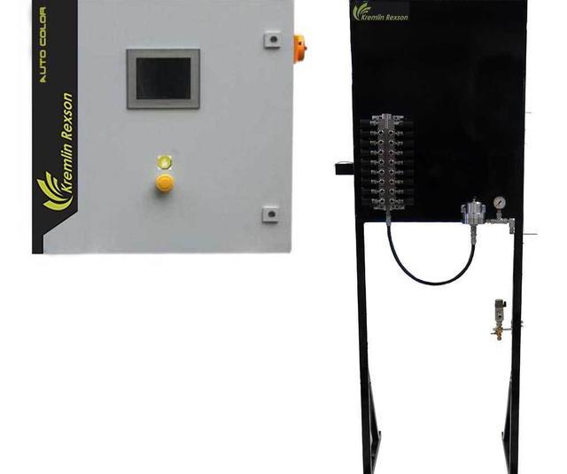 Sistema automático de baja presión para el cambio de color - AUTO COLOR
