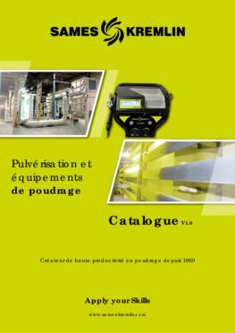 Catalogue Poudre SAMES KREMLIN