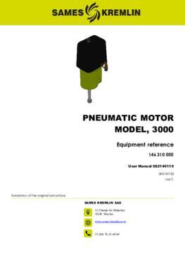 Motor 3000 REXSON Dispense | User manual