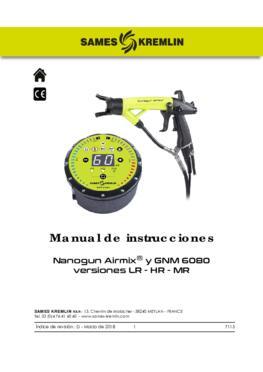 Nanogun-MX + GNM 6080 (LR - HR) | Manual de instrucciones