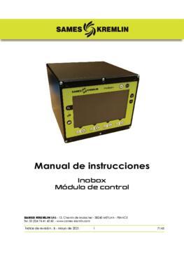 Inobox Module de Control | Manual de Instrucciones