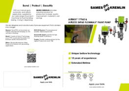 Leaflet 17F60 Flowmax® Airmix® 34F60 Airless® (English version) SAMES KREMLIN