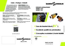 Brochure Pistolet AVX / ATX  AIRMIX®