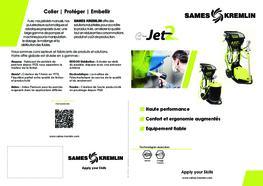 Brochure E-JET2 Equipement Poudre