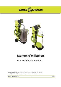Inocart VT Inocart H|Manuel d'utilisation