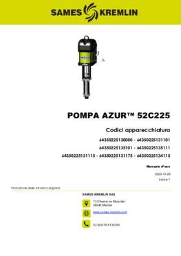 Azur™ 52C225   Manuale d'uso