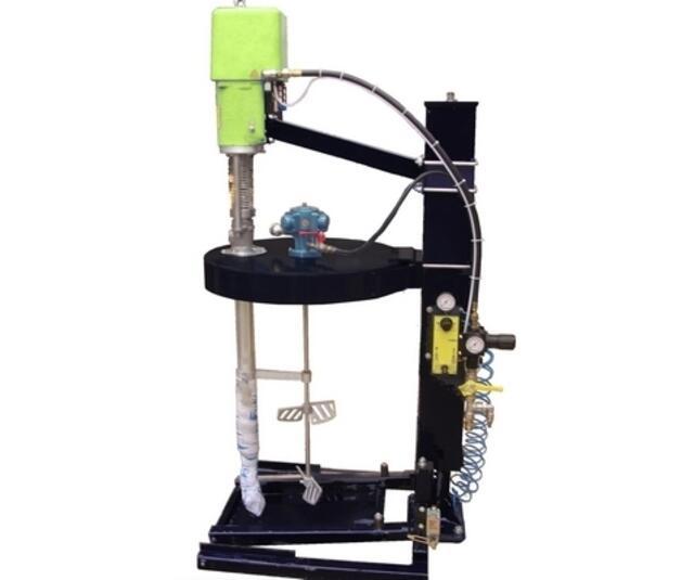 Pump for semi-viscous-material