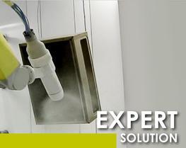 Soluzione robotica avanzata polvere
