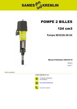 REXSON REX2B124 Dispense | Manuel instructions