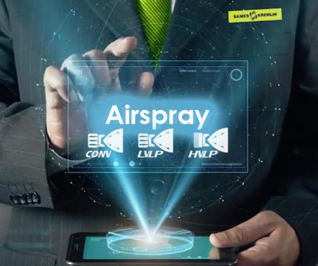 SAMES KREMLIN airspray technologies