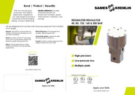 Leaflet REGMASTER Regulator for Viscous Materials (English version) SAMES KREMLIN