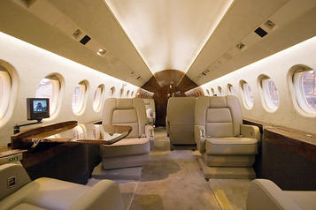 interior coating of aircraft