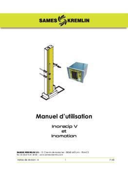 Inorecip V - Inomotion  Manuel d'instructions