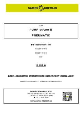 04F240 | 操作手册