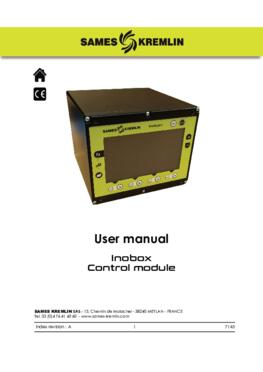 Inobox control module |User manual