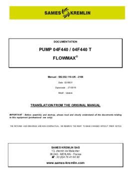 04F440 / 04F440T | User manual