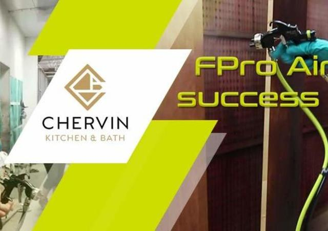 Chervin FPro spray gun success
