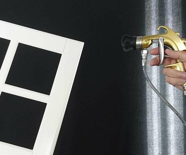 Solución Airmix para un pintor