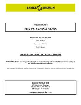 15C25 / 30C25 | User manual