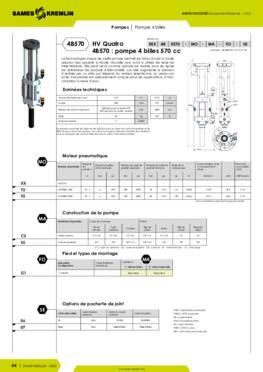 REXSON 4B570 - Fiche caractéristiques détaillées