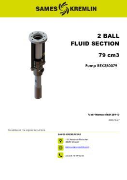 REX2B0079 REXSON Dispense | User manual