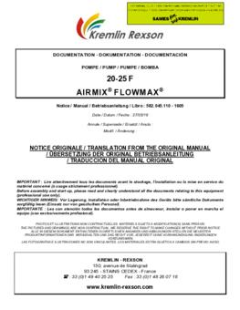20F50 | Manual de instrucciones