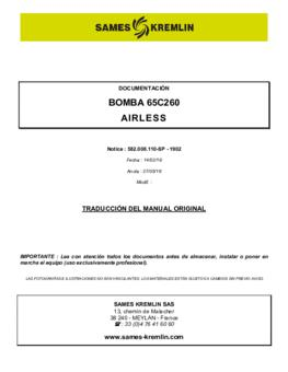65C260 | Manual de instrucciones