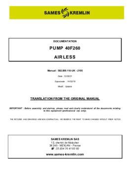 40F260 | User manual