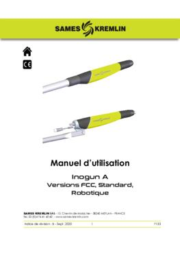 Inogun A|Manuel d'utilisation