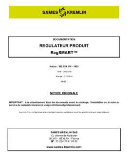 RegSmart | Manuel d'utilisation
