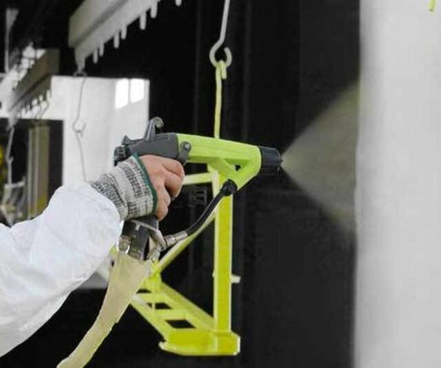 Easy liquid electrostatic Airmix® solution for one painter