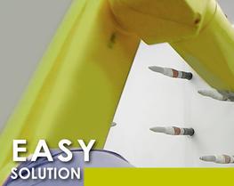 Soluzione robotica agile polvere
