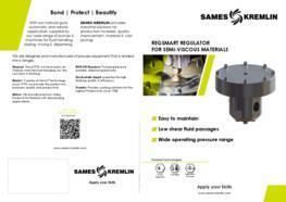 Leaflet REGSMART Regulator for Semi-Viscous Materials (English version) SAMES KREMLIN