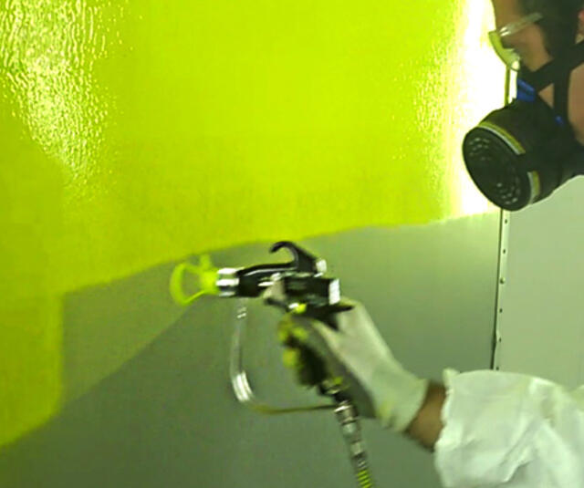 Airless® application