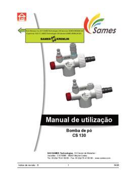 CS130   Manual Instruções
