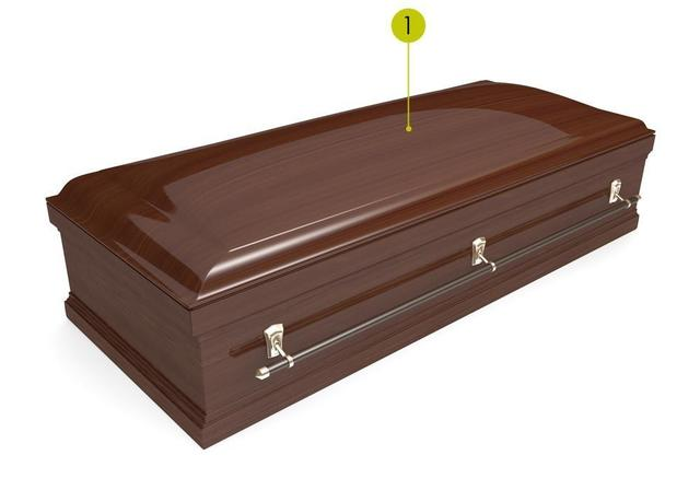 Superior finishing and bonding for coffins market