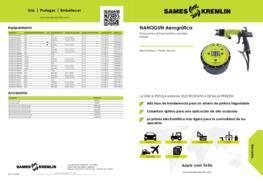 Pistola Manual Electrostática NANOGUN Aerográfica