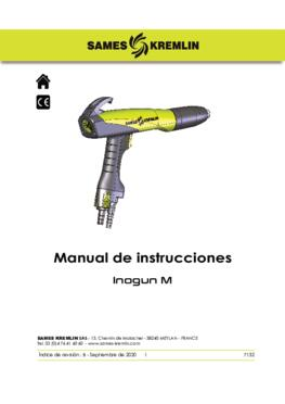 Inogun M | Manual de Instrucciones