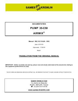 35C50   User manual